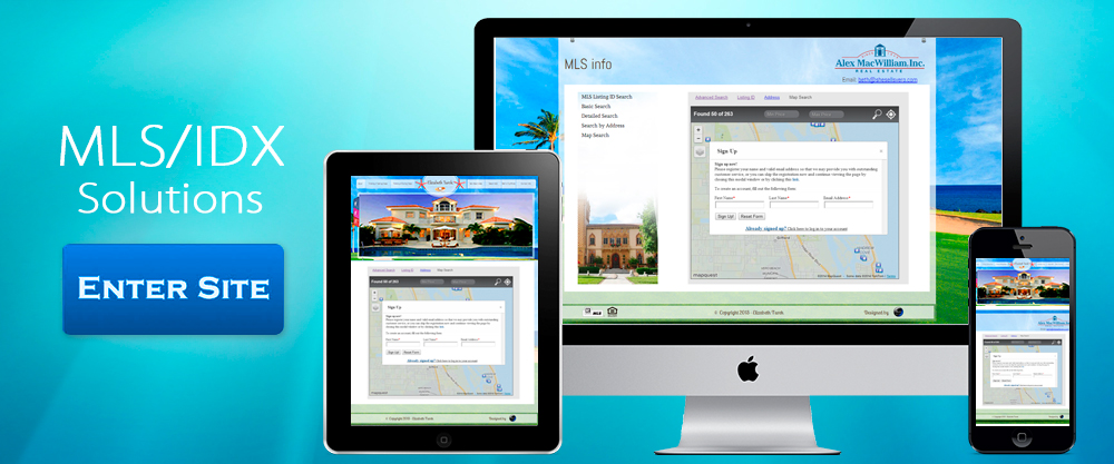 Custom IDX websites in Palm Beach County